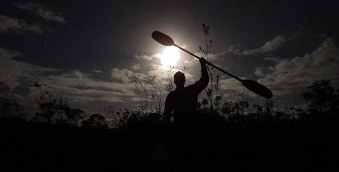Ride under the full moon activity at Station O'KATAVENTURES - Camping Nature Plein Air