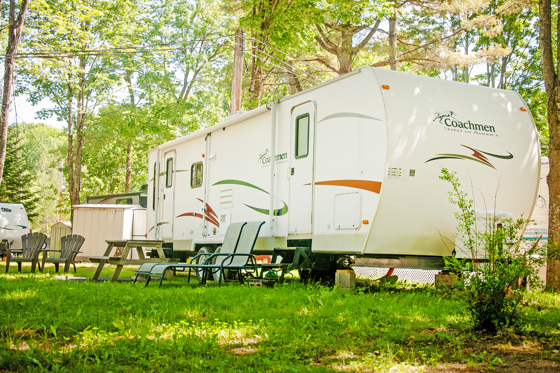 More details about trailer rental - Accommodations at Camping Nature Plein Air